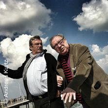 Jaecki Schwarz & Wolfgang Winkler in BRIESEN OT ALT MADLITZ * Gut Klostermühle Theaterforum,