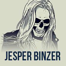 Jesper Binzer in ASCHAFFENBURG * Colos - Saal,