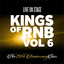 Kings of RnB Vol. 6 - Ginuwine, 112 & Dru Hill in HAMBURG * Docks Hamburg