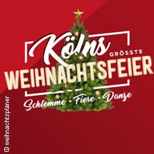 Sonstiges weitere: Kölns Größte Weihnachtsfeier - Lanxess Arena Köln Karten
