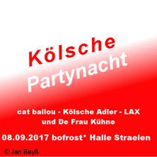 Kölsche Partynacht Straelen 2017