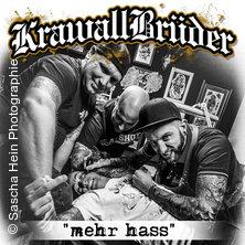 Krawallbrüder Mehr Hass Tour 2018