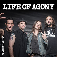 Life Of Agony: A Place Where There´s No More Pain in Leipzig, 23.08.2017 - Tickets -
