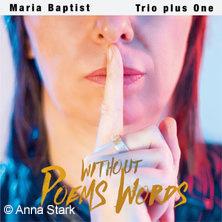 Maria Baptist Trio Karten für ihre Events 2018