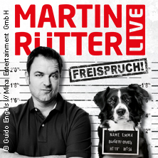 Martin Rütter: Freispruch! in MÜNSTER * Messe+Congress Centrum Halle Münsterland,