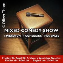 Mixed Comedy Show in Gescher