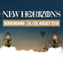 NEW HORIZONS FESTIVAL | 24. - 25. August 2018 in NÜRBURG * Nürburgring,