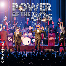 Power of the 80s in MÜNCHEN * Circus - Krone - Bau,