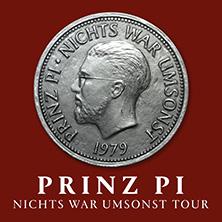 Prinz Pi: Nichts War Umsonst - Tour 2018