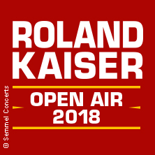 Roland Kaiser - Live 2018 Tickets
