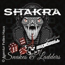 Shakra: Snakes & Ladders Tour in MANNHEIM * 7er Club,