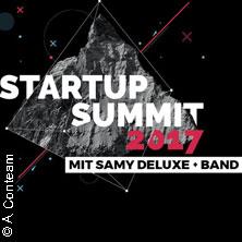 Startup Summit Südwestmit Samy Deluxe und Band