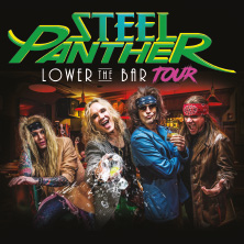 Steel Panther: Lower The Bar Tour 2018 in MÜNCHEN - FREIMANN * Zenith, die Kulturhalle,