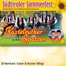 Kastelruther Spatzen: Südtiroler Sommerfest 2018 in THALE / HARZ * Harzer Bergtheater Thale,