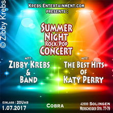 Summer Night Concert - Zibby Krebs & Band