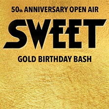 Sweet - 50th Anniversary Open Air 2018 in Berlin, 09.06.2018 - Tickets -