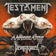 Testament: Brotherhood Of The Snake Tour 2017 in WIESBADEN * Schlachthof Wiesbaden,