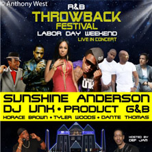 R&B Throwback Festival