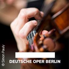 Tischlereikonzerte - Deutsche Oper Berlin Tickets