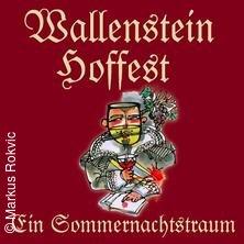 Wallenstein Hoffest Tickets