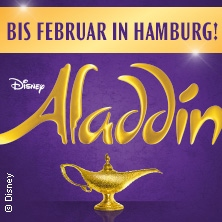 Disneys ALADDIN in Hamburg Karten
