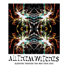 All Them Witches: Sleeping Through The War Tour 2018 in MÜNCHEN * Backstage Halle