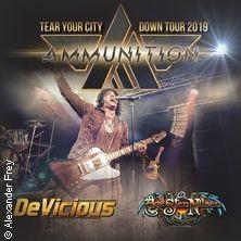 Ammunition - Tear Your City Down Tour 2019 in KARLSRUHE * Unverschämt Karlsruhe,
