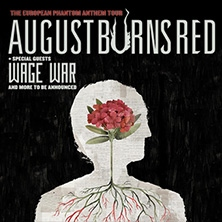 August Burns Red: The European Phantom Anthem Tour in KÖLN * Essigfabrik,