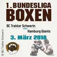 BC TRAKTOR Schwerin vs. Hamburg Giants in SCHWERIN * Palmberg Arena,