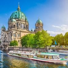 Berlin Erlebnis Cabriobus + Bootstour