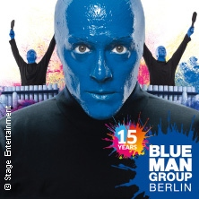 Blue Man Group in Berlin - Die Show-Sensation in BERLIN * Stage Bluemax Theater