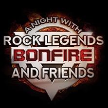 Bonfire & Friends: A Night With Rock Legends in BALINGEN * volksbankmesse Balingen,