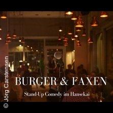Bild für Event Burger & Faxen im Hansekai Hamburg