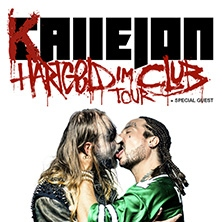 Callejon - Hartgeld im Club Tour in HANNOVER * Faust - 60er Jahre Halle