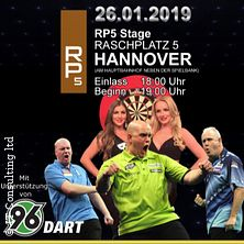 Dart Gala Hannover mit Michael van Gerwen in HANNOVER * RP5 Stage,
