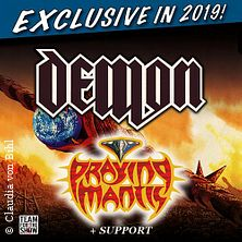 Demon + Praying Mantis