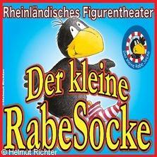 Der kleine Rabe Socke Figurentheater -Rheinländisches Figurentheater in BERLIN * Theatermobil Winterfeldtplatz,