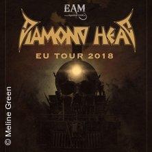 Diamond Head - Eu Tour 2018 in MANNHEIM * 7er Club,