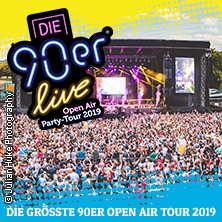 Die 90er Live Halle - Open Air Tour 2019 in HALLE (SAALE), 13.07.2019 - Tickets -