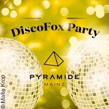 Disco-Fox Party mit gratis Tanzkurs - Pyramide Mainz in MAINZ * Pyramide Mainz,