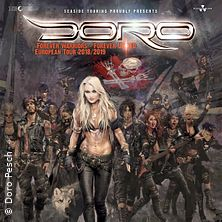 Doro: Forever Warriors - Forever United European Tour 2019 in NÜRNBERG * Löwensaal