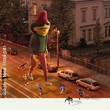 Flying Steps & OSGEMEOS inszenieren: Bilder einer Ausstellung/Flying Pictures