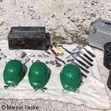 Fossilien und Mineralien selber suchen - Outdoor Hannover in HANNOVER * OutdoorHannover Aussengelände,