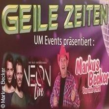 Geile Zeiten 80er & 90er - Uckerseehalle Prenzlau in PRENZLAU * Uckerseehalle Prenzlau,