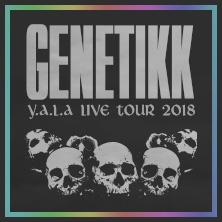 Genetikk: Y.A.L.A Live Tour 2018 in STUTTGART-WANGEN * LKA-Longhorn