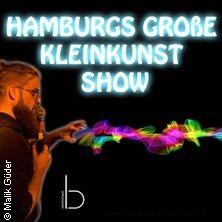 Hamburgs Große Kleinkunst Show in HAMBURG * Bahnhof Pauli,