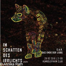 Im Schatten des Irrlichts 3/4 in Berlin, 22.02.2018 - Tickets -
