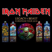Iron Maiden: Legacy Of The Beast European Tour 2018 in FREIBURG * Messe Freiburg - OPEN AIR,
