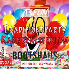 Karnevalsfreitag Bootshaus ab 16+ in Köln, 01.03.2019 - Tickets -