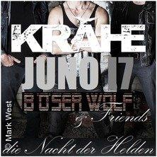 Krähe / Juno17 / Böser Wolf & Friends in DORTMUND * Jumbo Center,